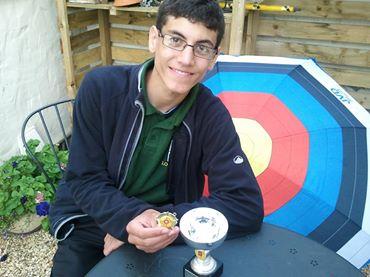 Louis Paul, NCAS Junior Gent Outdoor County Champ.
