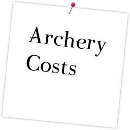Archery Costs