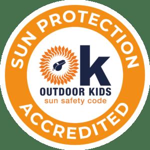 OK Sun Protection Accredited Logo